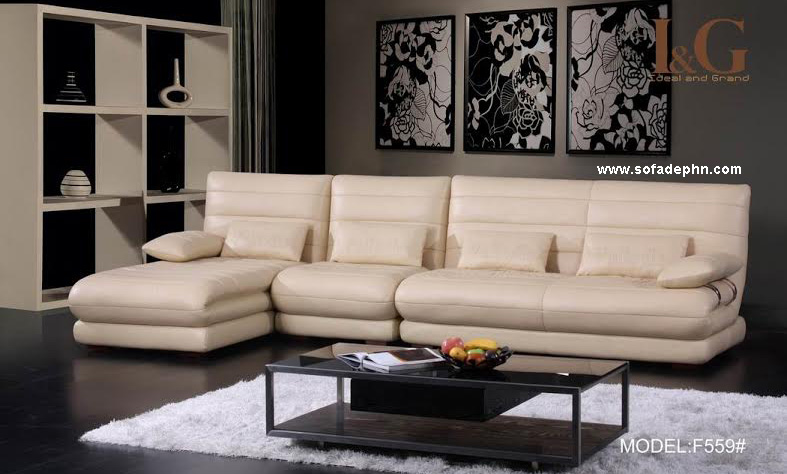 Sofa phòng khách sang trọng trang nhã