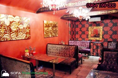 Sofa cafe 003 trang nhã lịch sự