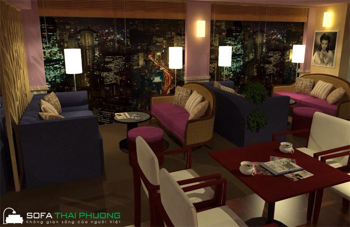 Ghế Sofa cafe 006