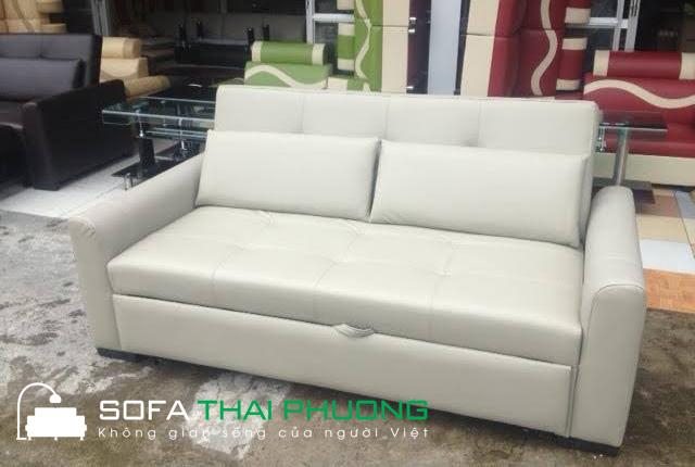 Sofa bed da trắng 009