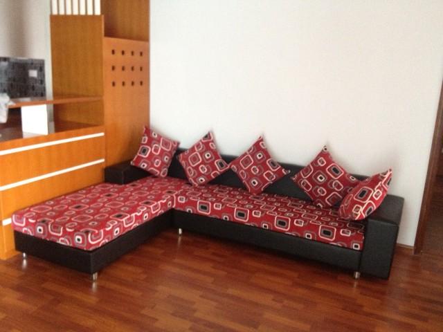 Sofa góc nỉ MM24