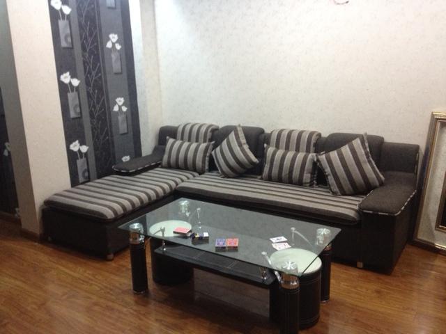 Sofa góc nỉ SFN021