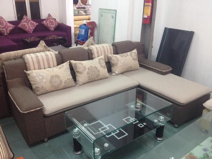 Sofa góc nỉ SFN022