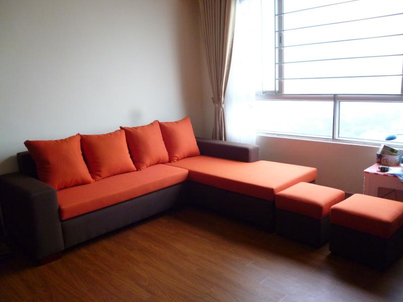 Sofa Nỉ góc cỏ may SFN024