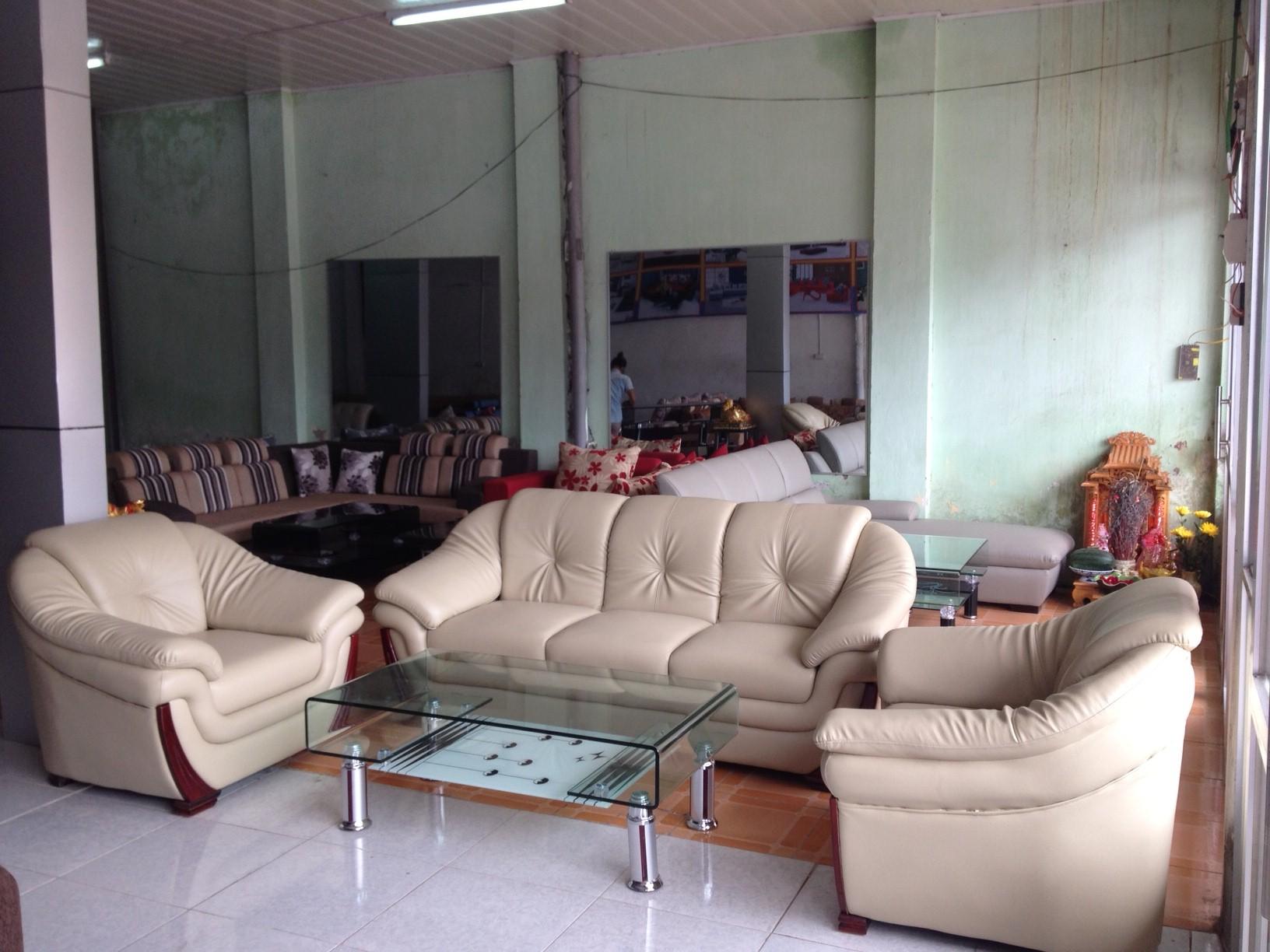 Sofa văn phòng da mã SFVP02