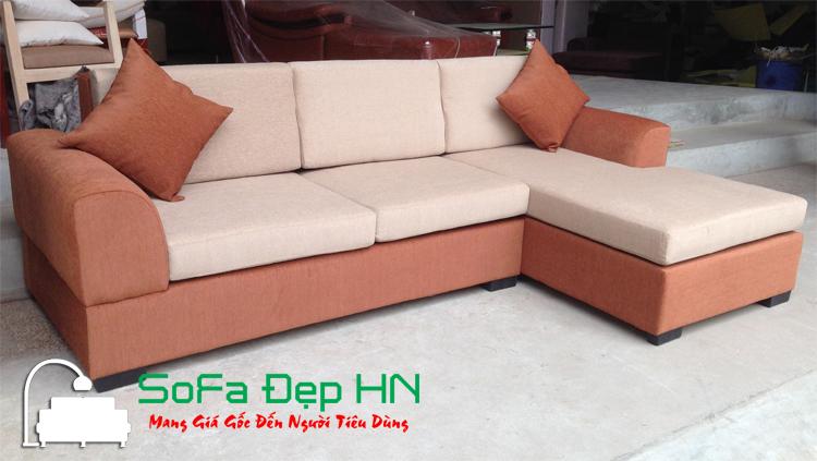 Sofa góc Nỉ mã SFN025